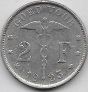 2 FRANCS 1923 FL - 1909-1934: Albert I