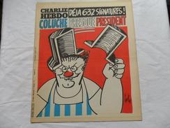 ANCIEN / 1er SERIE /  CHARLIE HEBDO  N° 535 /  GEBE  /  FEVRIER  1981 - Magazines Et Périodiques