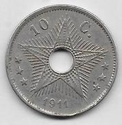 10 Centimes 1911 - Congo (Belge) & Ruanda-Urundi