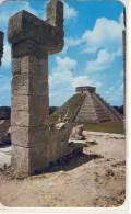 MEXICO - CHICHEN ITZÁ, Yucatán - El Castillo Desde El Templo De Los Guerreros - México