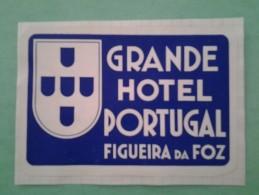 Étiquette  Hotel Figuera Da Foz - Hotel Labels