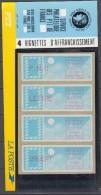 FRANCE - Timbres Distributeut - 88/91 En Plaquette Cote 11,50 Euros Depart A 10% - 1985 Papier «Carrier»