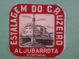Étiquette  Hotel ALJUBARROTA PORTUGAL - Hotel Labels