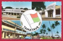 CPSM Madagascar - Toamasina - Tamatave - Multivues - Madagaskar