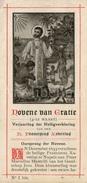 Devotieprentje / Novene Van Gratie / Verjaardag Heiligverklaring / Franciscus Xaverius / 2 Scans - Devotieprenten