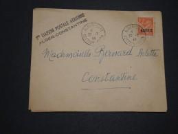 FRANCE / ALGÉRIE - Enveloppe Par Avion 1 ère Liaison Alger / Constantine En 1946 - A Voir - L 4476 - Algérie (1924-1962)