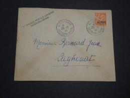 FRANCE / ALGÉRIE - Enveloppe Par Avion 1 ère Liaison Alger / Ghardaia En 1946 - A Voir - L 4477 - Algérie (1924-1962)