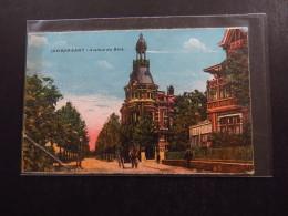 Postcard Lambersart Avenue Du Bois Church Building Horse Carriage - Postkaarten