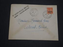 FRANCE / ALGÉRIE - Enveloppe Par Avion 1 ère Liaison Alger / Colomb Béchar En 1946 - A Voir - L 4478 - Algérie (1924-1962)