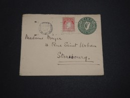 IRLANDE - Entier Postal + Complément Pour La France En 1927 - A Voir - L 4479 - Entiers Postaux