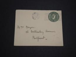 IRLANDE - Entier Postal Pour Belfast En 1928 - A Voir - L 4480 - Entiers Postaux