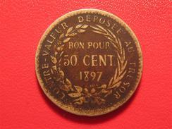 Martinique - Bon Pour 50 Centimes 1897 2285 - Colonias