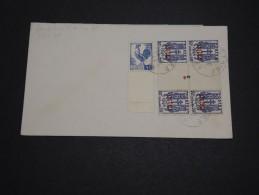 FRANCE / ALGÉRIE - Oblitération Du 18 / 6 /45 Sur Type Coq Et Chaînes Brisées Sur Enveloppe - A Voir - L 4482 - Algérie (1924-1962)