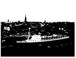 (DEL 710) Cruise Ship - Hanseatic - Dampfer