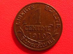 Un Centime Dupuis 1910 2666 - France