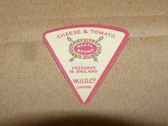 Cheese Queso Kase Label Etikette Etiqueta ~1920-1950 CHEESE & TOMATO REGAL BRAND ENGLAND LONDON - Quesos