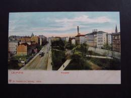 Postcard Postkarte Germany Deutschland Leipzig Flossplatz Unused - Cartoline