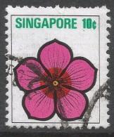 Singapore. 1973 Flowers And Fruits. 10c Used. SG 214 - Singapore (1959-...)