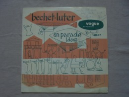 """Disque Vinyle 33 T """"On Parade"""" BECHET-LUTHER - Jazz"""