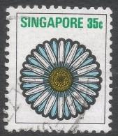 Singapore. 1973 Flowers And Fruits. 35c Used. SG 218 - Singapore (1959-...)