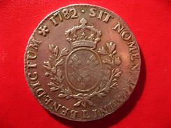 Ecu Louis XVI 1782 L Bayonne 4674 - 987-1789 Monnaies Royales