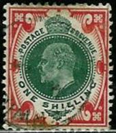 GREAT BRITAIN..1902..Michel # 114...used...MiCV - 18 Euro. - 1902-1951 (Re)
