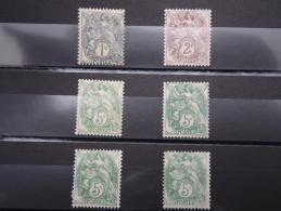 FRANCE – Lot De Timbres Au Type Blanc - * – A Voir - 19466 - 1900-29 Blanc