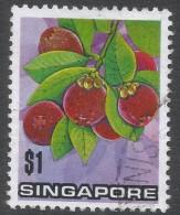 Singapore. 1973 Flowers And Fruits. $1 Used. SG 221 - Singapore (1959-...)