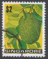 Singapore. 1973 Flowers And Fruits. $2 Used. SG 222 - Singapore (1959-...)