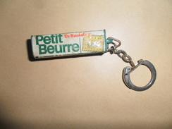 ANCIEN PORTE-CLE / PUB  PETIT BEURRE DE BEUKELAER - Porte-clefs