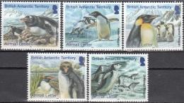 British Antarctic Territory 2014 Manchots Tarif Lettre Neuf ** - Territoire Antarctique Britannique  (BAT)