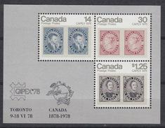 CANADA Block 1 – MNH ** - Expo CAPEX 1978
