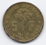 CONGO BELGA - 5 Franchi - 1952 - 1951-1960: Baudouin I