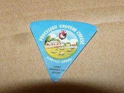 Cheese Queso Kase Label Etikette Etiqueta ~1920-1950 MITCHAM GRUYERE ENGLAND KUH COW - Quesos