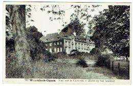 Wezembeek-Oppem. Vue Sur Le Château. Zicht Op Het Kasteel - Wezembeek-Oppem