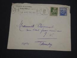 FRANCE / ALGÉRIE - Enveloppe De Alger Pour Alger En 1943 , Oblitération Mécanique De Propagande - A Voir - L 4504 - Algérie (1924-1962)