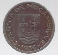 Mozambico 1936 COPPER-NICKEL 50 CENTAVOS - Mozambique