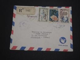NOUVELLE CALÉDONIE- Enveloppe En Recommandé De Nouméa Pour La France En 1963 - A Voir - L 4506 - Briefe U. Dokumente