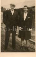 Photo Ancien / Couple / Homme / Man / Femme/ Woman - Persone Anonimi