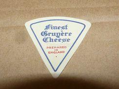 Cheese Queso Kase Label Etikette Etiqueta ~1920-1950 FINEST GRUYERE ENGLAND - Quesos
