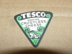 Cheese Queso Kase Label Etikette Etiqueta ~1920-1950 TESCO EMPIRE CRUSTLESS KUH COW - Quesos