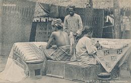 INDONESIA - Batikkers (BATIK MAKERS) -  Circa 1910, Uitg. N. V/h H. Van Ingen, Soerabaja, # 11 20223 - Indonesia