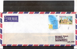 Cover From Tuvalu To Belgium - 1976 (to See) - Tuvalu