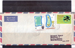 Cover From Tuvalu To Belgium - 1977 (to See) - Tuvalu