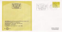 Nederland - Zegelkoerier Nederlandse Poststempels - 125 Jaar Diergaarde Blijdorp Rotterdam - Nr. 167 - Marcofilie - EMA (Print Machine)