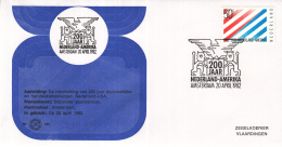 Nederland - Zegelkoerier Nederlandse Poststempels - 200 Jaar Nederland-Amerika - Nr. 165 - Marcofilie - EMA (Print Machine)