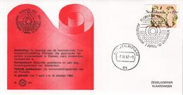 Nederland - Zegelkoerier Nederlandse Poststempels - Floriade 1982 - Amsterdam - Nr. 164 - Marcofilie - EMA (Print Machine)