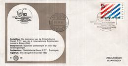 Nederland - Zegelkoerier Nederlandse Poststempels - 4. Internationale Briefmarken-Messe Essen - 1982 - Nr. 166 - Marcofilie - EMA (Print Machine)