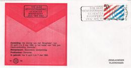 Nederland - Zegelkoerier Nederlandse Poststempels - 500 Jaar Oververbinding Deventer - Brugfeest 1982 - Nr. 169 - Marcofilie - EMA (Print Machine)
