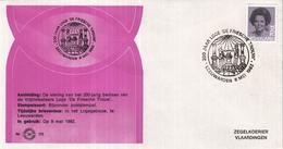 """Nederland - Zegelkoerier Nederlandse Poststempels - 200 Jaar Loge """"De Friesche Trouw"""" - Leeuwarden - Nr. 170 - Marcofilie - EMA (Print Machine)"""